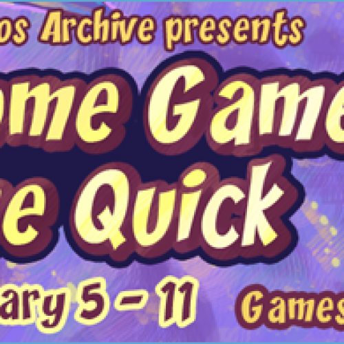 AGDQ – Awesome Games Done Quick 2014