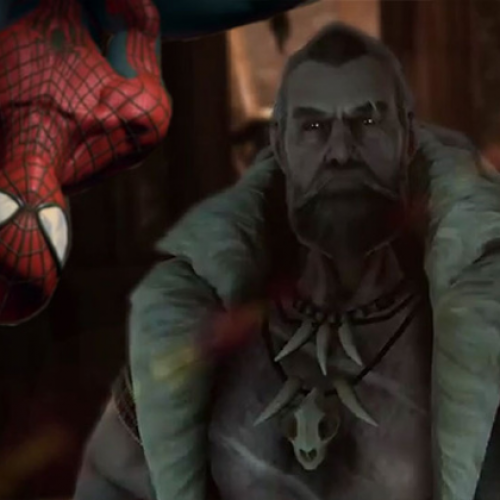 The Amazing Spider-Man 2 trailer features Kraven the Hunter