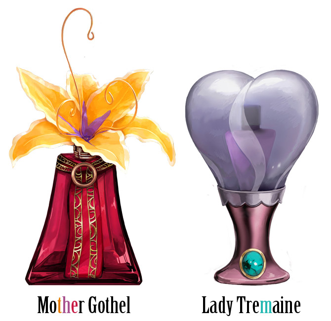 Disney Perfume - mother gothel lady tremaine