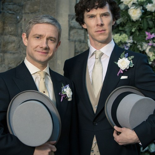 'SHERLOCK:  The Sign of Three' is a wedding wrapped mystery