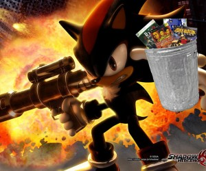Shadow the Hedgehog Trash Heap Pic