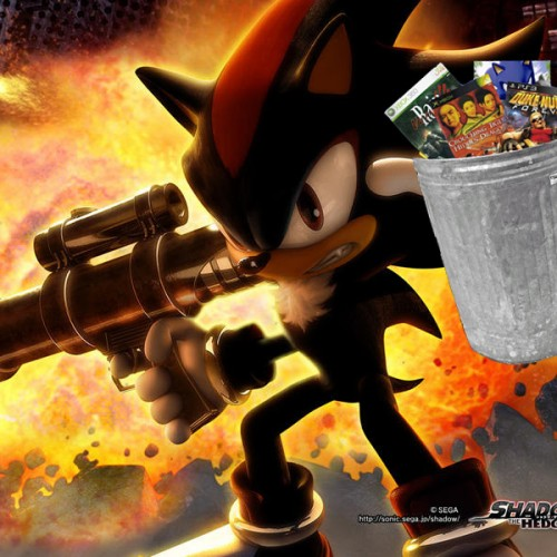 The Trash Heap – Shadow the Hedgehog