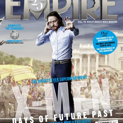 Empire Magazine releases 25 covers for X-Men: Days of Future Past