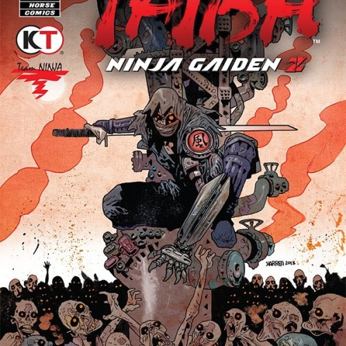 Yaiba: Ninja Gaiden Z comic out from Dark Horse Comics