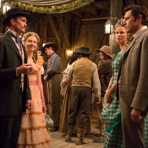 The next Seth MacFarlane movie will be a comedy Western