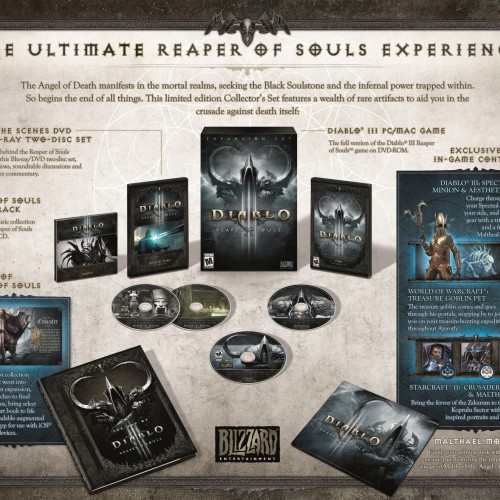 Diablo 3: Reaper of Souls Collector's Edition coming March 25th