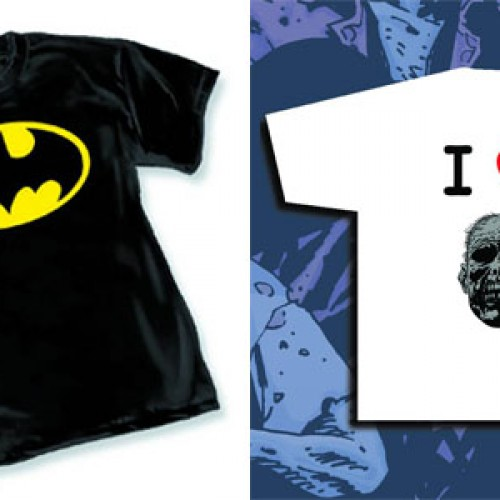 Contest: Winner announced for Batman and The Walking Dead t-shirts giveaway