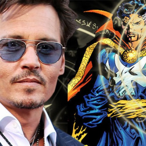 Rumor: Marvel looking to Johnny Depp to play Doctor Strange?