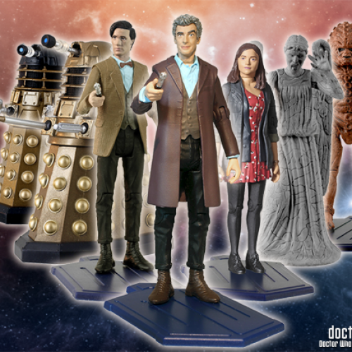 New Doctor Who toys to be released!