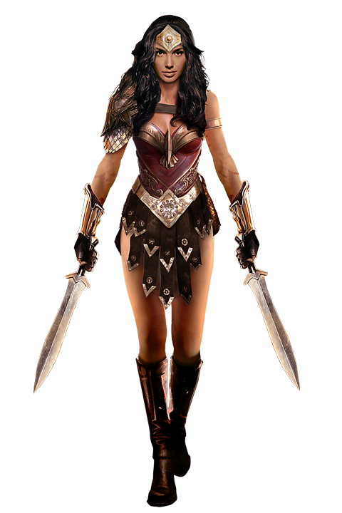 Gal Gadot Gets Another Wonder Woman Concept Design For