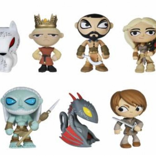 Game of Thrones gets cute little mystery figurines