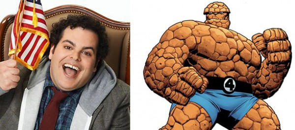 josh gad thing fantastic four