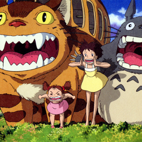 Is My Neighbor Totoro actually the God of Death?