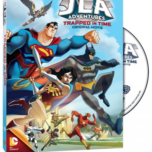 JLA Adventures: Trapped in Time available at Target
