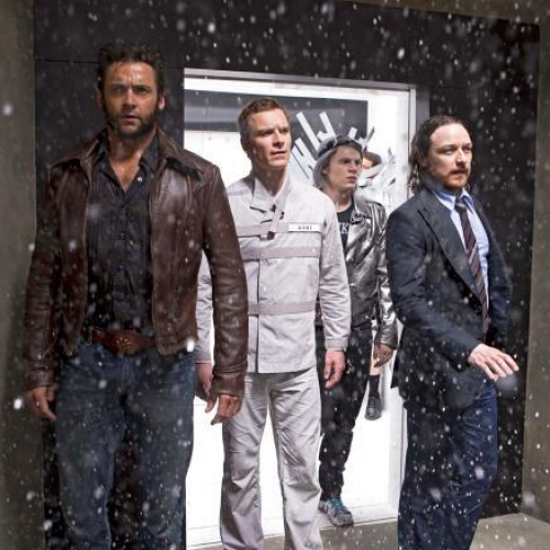 Quicksilver revealed in X-Men: Days of Future Past; plus sexy time with Beast and Wolverine