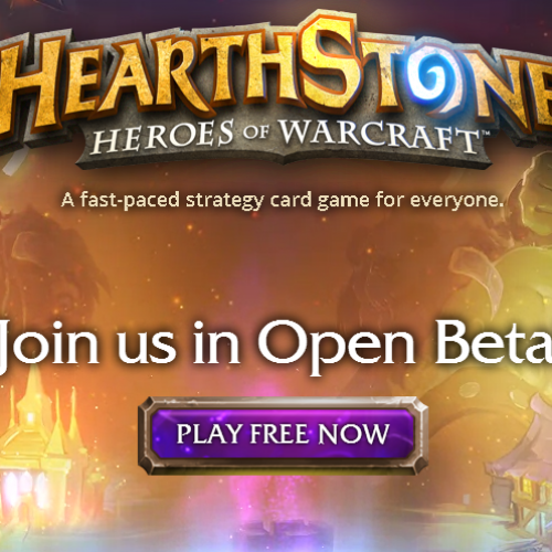 Blizzard's HearthStone now in Open Beta