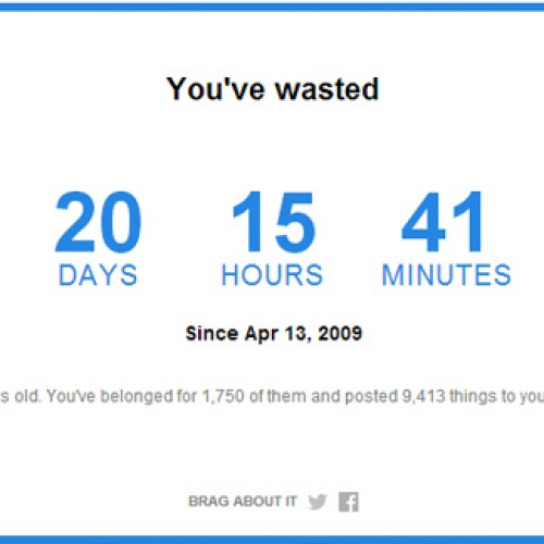 TIME Magazine reveals how much time you've wasted on Facebook