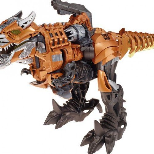 Closer look at Grimlock, Dinobots and others from Transformer: Age of Extinction…as toys