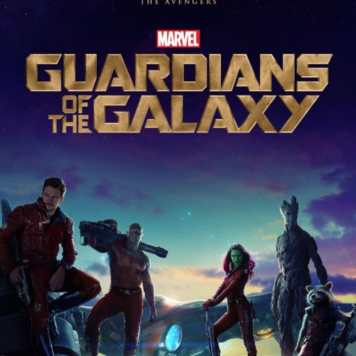 First poster for Guardians of the Galaxy revealed