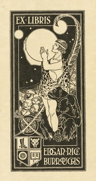 Burroughs bookplate