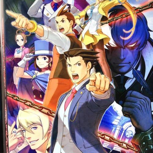 Capcom working on a brand new Ace Attorney game