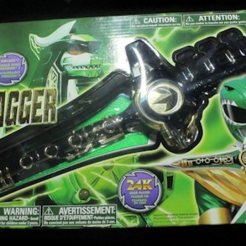 The hunt for the Mighty Morphin Power Rangers Legacy Dragon Dagger (available now)