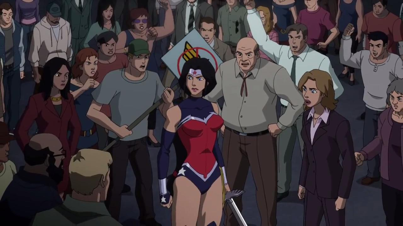 Wonder Woman Beaten Justice League JusticeLeagueWarWonderWoman02