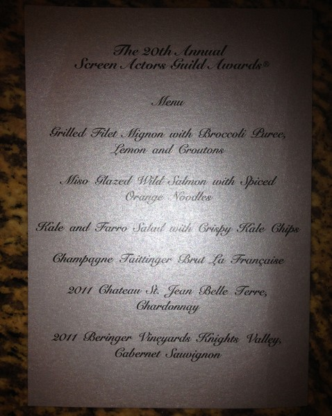 Menu_2014_SAG_Awards_Giovanni_Roselli