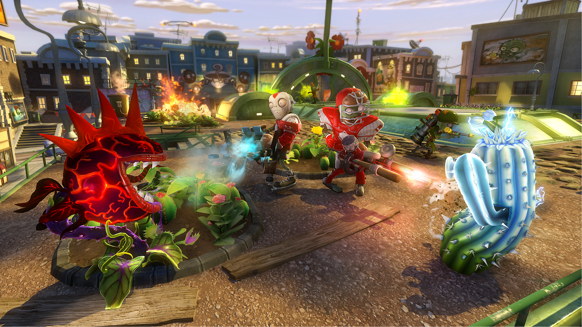 plants vs zombies garden warfare peashooter wallpaper