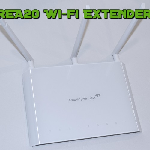 Review: The Amped Wireless REA20 High Power Wi-Fi Range Extender