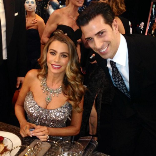 Behind the scenes with former WWE Star at 2014 Screen Actors Guild Awards