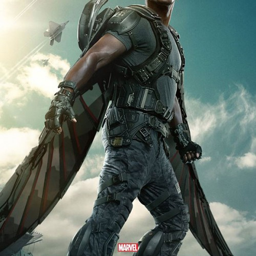 Falcon gets a Captain America: The Winter Soldier character poster