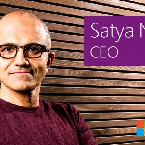 Microsoft has hope.. Satya Nadella selected as new CEO