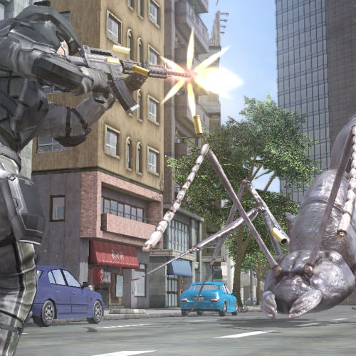 Rid Earth of aliens once again in the new Earth Defense Force 2025