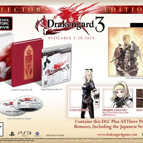 Drakengard 3 is getting an exclusive Collector's Edition