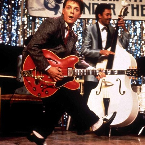 Back to the Future becoming a reality? Nike power laces, guitar auction and a musical