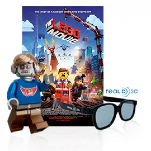 AMC's LEGO Movie MiniFigure promotion