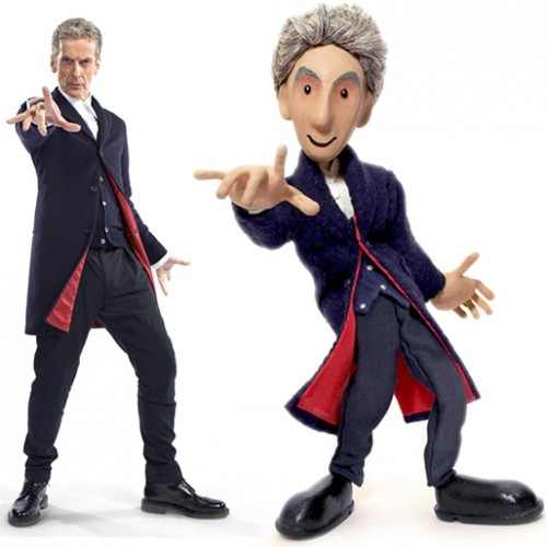 Doctor Who: the 12th Doctor gets a puppet!