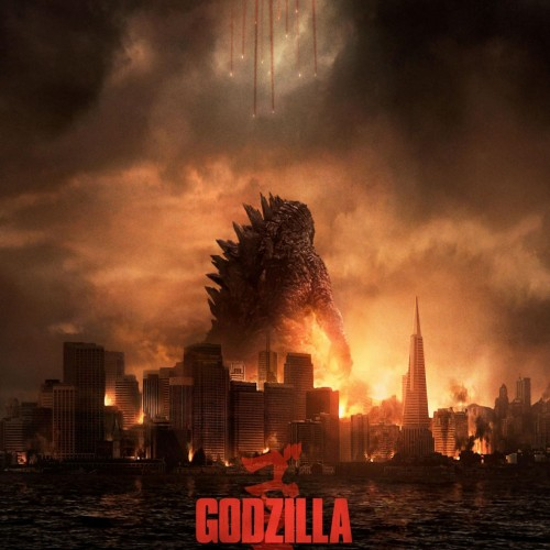 Godzilla towers over San Francisco in brand new poster