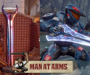 halo energy sword man at arms