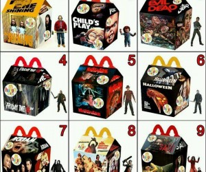 horror happy meals