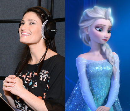 Of disney s frozen you re in luck idina menzel the powerful voice of