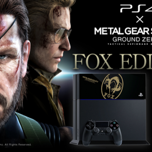 Metal Gear Solid V: Ground Zeroes will have a Limited Edition system in Japan