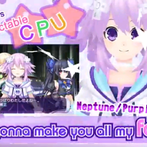 PS Vita idol game Hyperdimension Neptunia Producing Perfection coming later this year