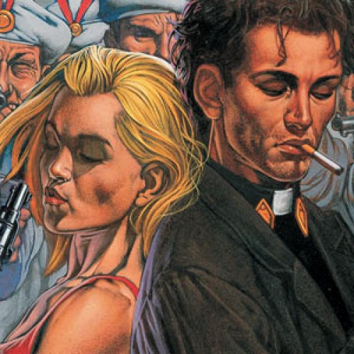 Seth Rogen releases first photo from Preacher starring Dominic Cooper