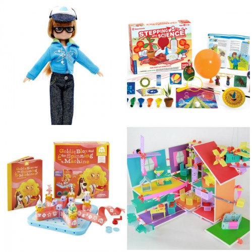 Science & Engineering-based toys to inspire your little girl