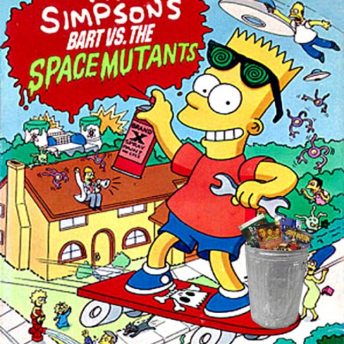 The Trash Heap – Bart vs The Space Mutants