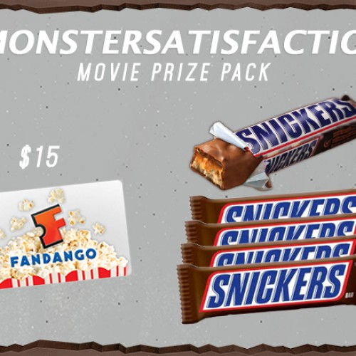 Contest: Snickers and Fandango Gift Card Giveaway