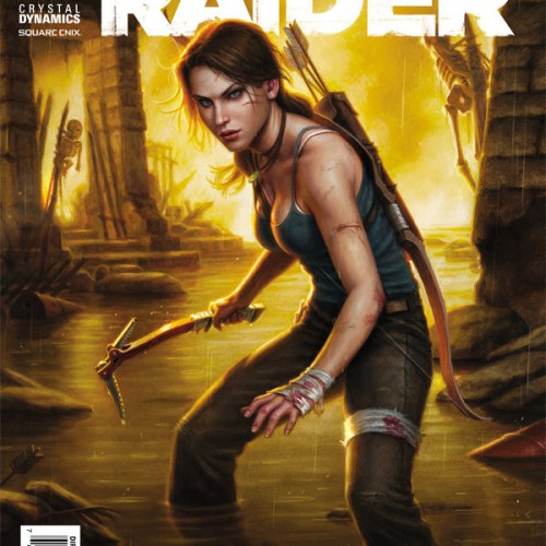 Lara Croft returns in Dark Horse's Tomb Raider #1 (review)