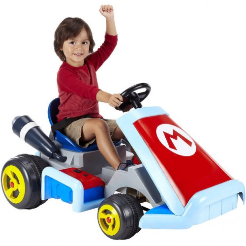Shut up and take my money! Life-size electric Mario Karts for sale!